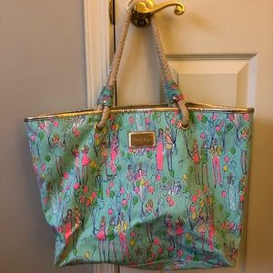 Perfect condition Lilly Pulitzer tote bag